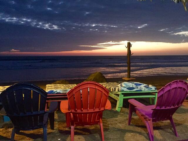 Cabañas de Playa /Beach House - Puerto Cayo - Srub