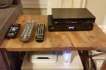 Cable TV, high speed internet, DVD / Smart TV