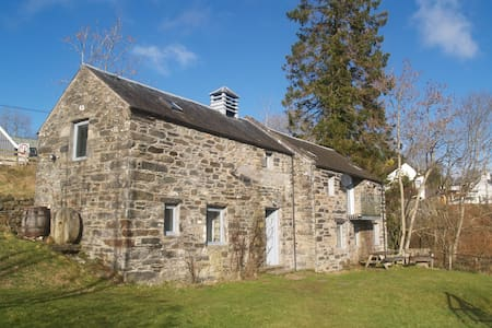 Converted mill with stunning views across Loch Tay