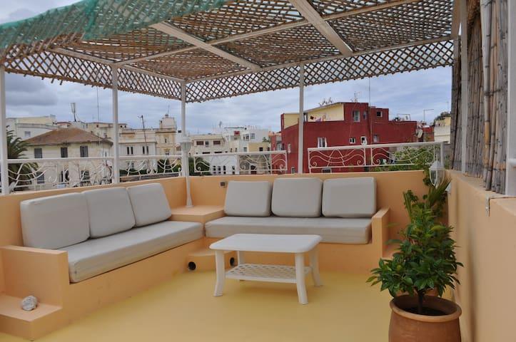 Appartement avec vue panoramique Casbah Tanger - Tangier - Appartement