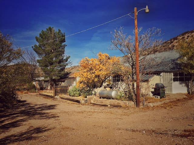 Historic Adobe Home Hidden in a Ghost Town.