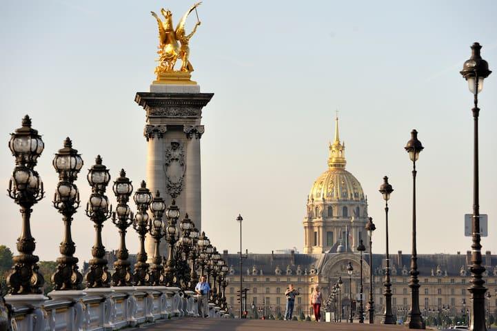 Nice and bright room in beautiful Paris ! - Paris - Wohnung
