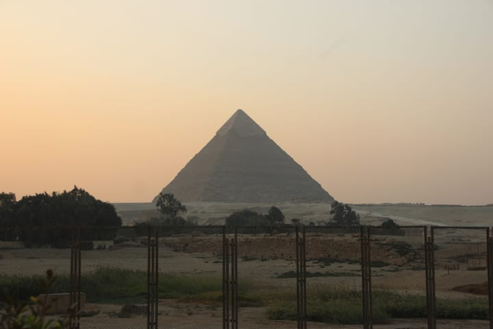 Farida Pyramids View