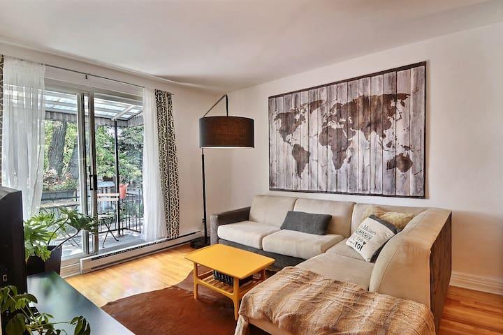 Le parfait logement montréalais - Монреаль