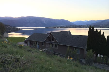 Private Lake Chelan View near Karma Vineyard - Chelan - Huis