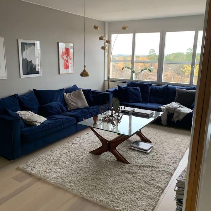 Härlig lägenhet nära Södermalm
