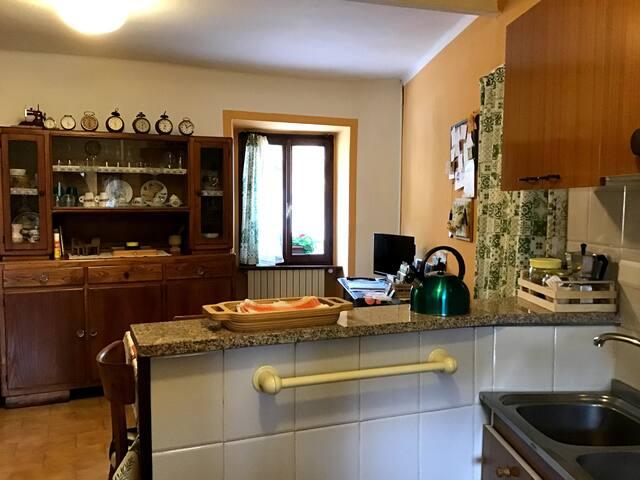 Cucina attrezzata - particolare