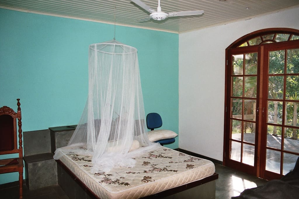 The turquoise room