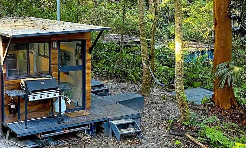 Jungle Tiny House at the Lake