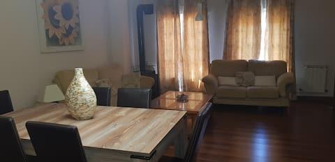 Apartamento perfecto para descansar .