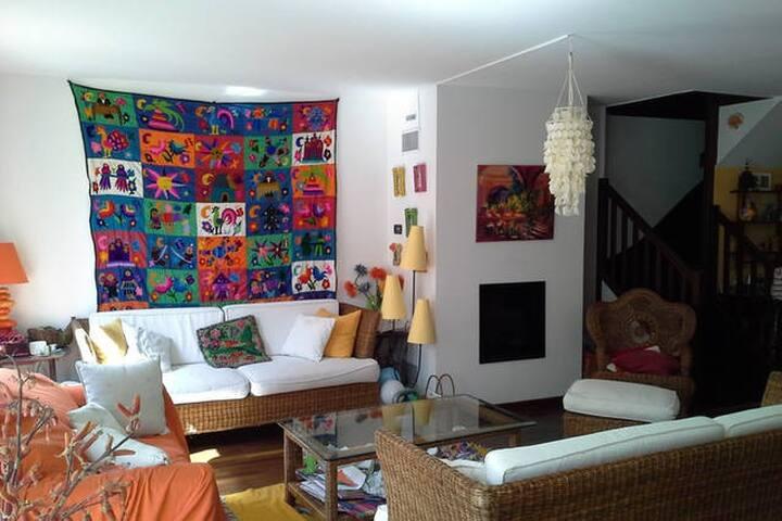 chambre+sdb dans maison chaleureuse - Saint-Germain-en-Laye - Huis
