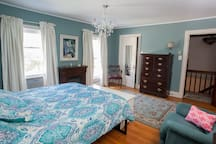 Langley House, Hudson/Philmont NY  Blue Room