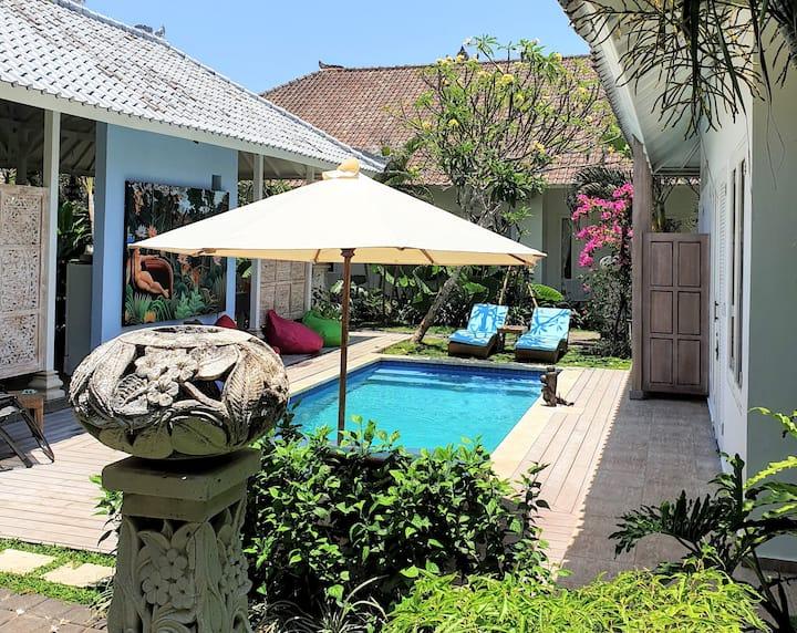 'Song Three' Spacious villa in a tropical garden