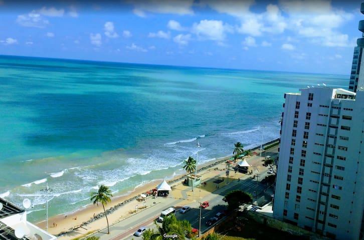 apartamento com vista para o mar, praia Boa Viagem