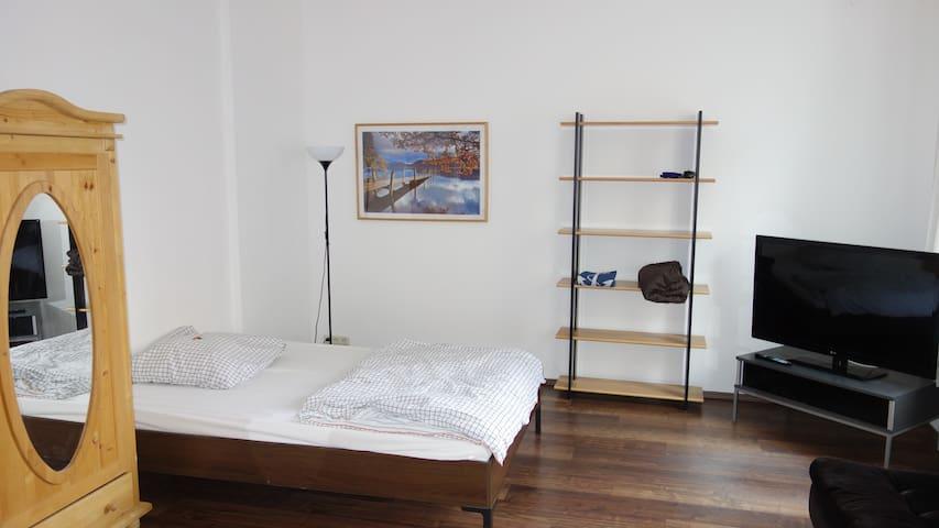 Huge (25m²), bright and very cosy room - Aachen - Lägenhet