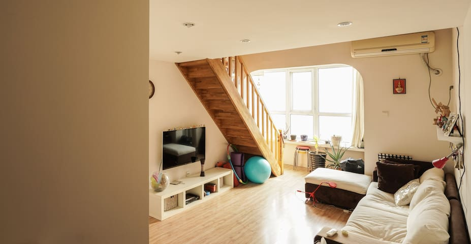 A Flat with a lovely loft - Pechino - Bed & Breakfast