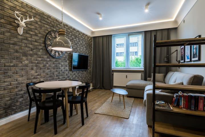 Contemporary Apartment near Torun Old Town