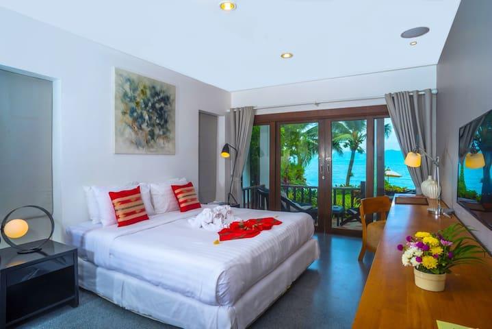 Relaxing  Beachfront Room in Koh Samui - Koh Samui - Leilighet