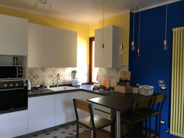 Quiete e colori in appartamento per due - Salsomaggiore Terme - Apartment