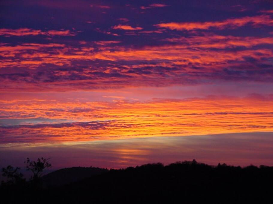 Unbelievable sunsets!
