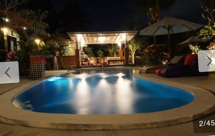 Beautiful & affordable bedroom @Baliwid villa Ubud