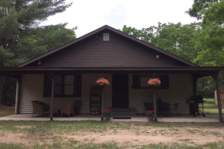 Manistee National Forest Cabin