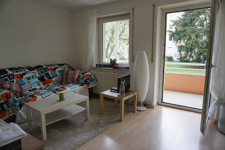 Bright & charming room near AP - Fráncfort del Meno - Departamento