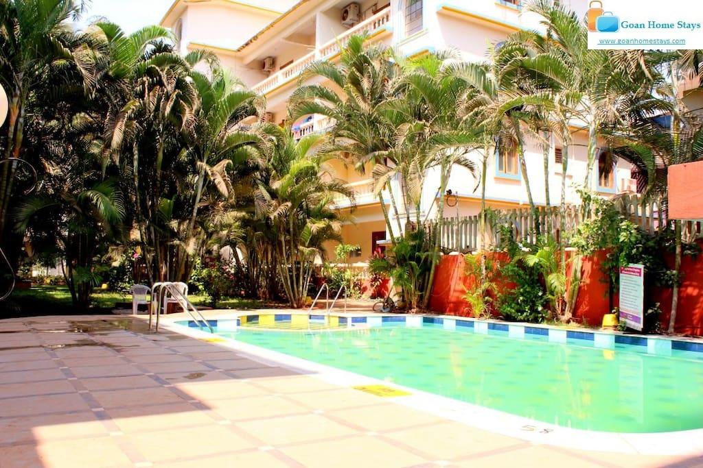 Apartment On Rent In Goa Calangute