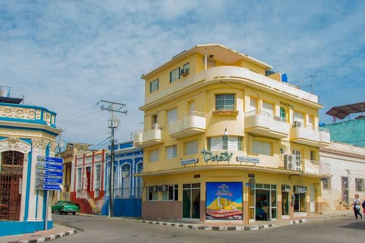 Casa Plaza de Marte 2 - A balcony in the center