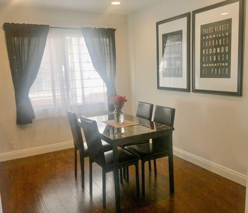 Dinning-room area.