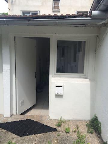 STUDIO SUR JARDIN 12MN METRO 5 BOBIGNY EN BUS - Drancy - Apartment