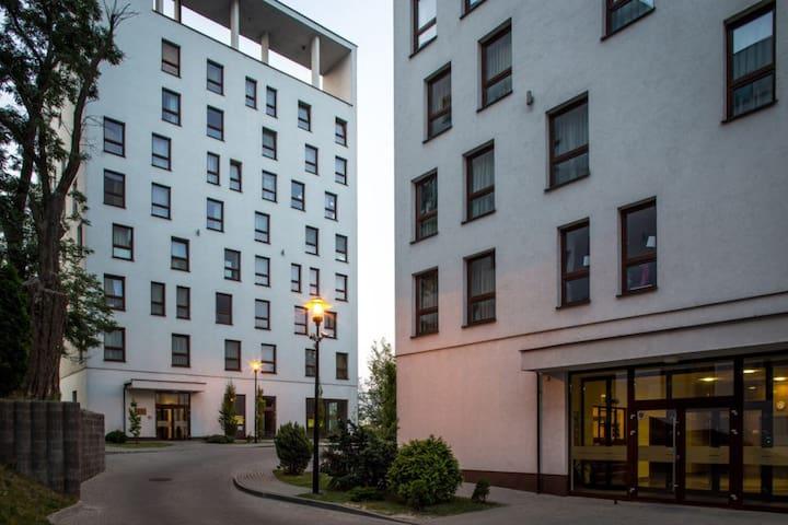 Apartamenty w prywatnym akademiku