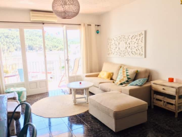 Two bedroom apartment 100 meters from the beach