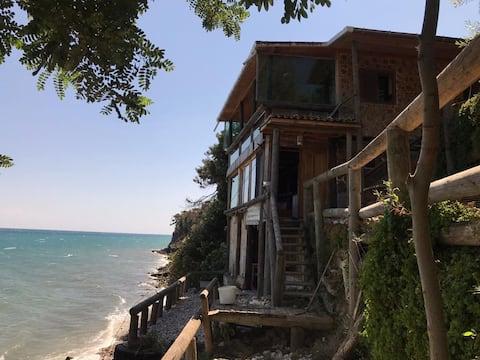 Sinop Gerze, Denize Sıfır Lüks Kütük Ev/Aileye