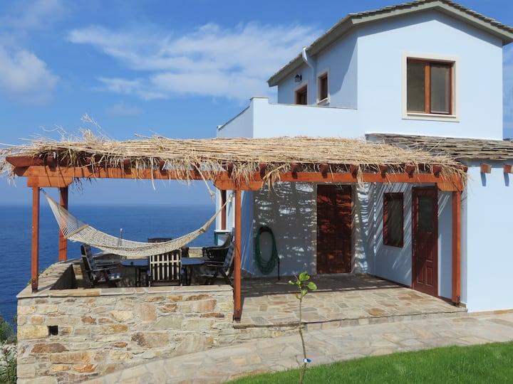 Villa Ikaros -Luxury Large SeaView Home Armenistis