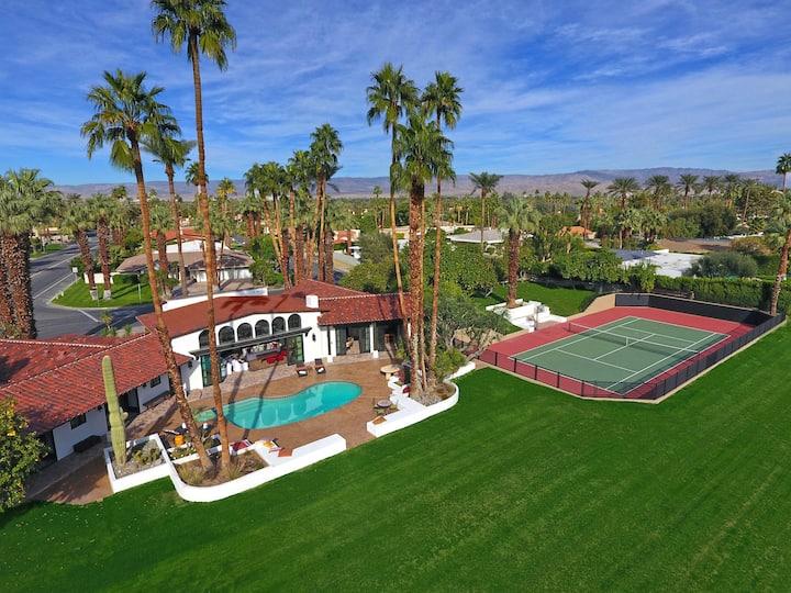 Dorado Vida Estate - 2 Acres+Tennis Court Pool/Spa