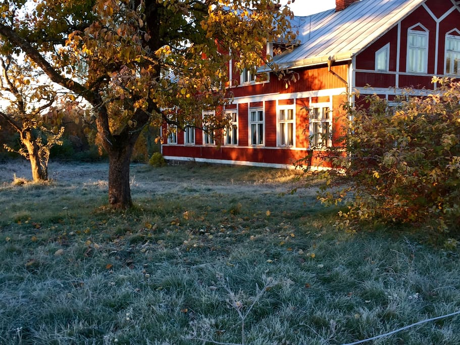 The Farm House.  Backpackers Welcome