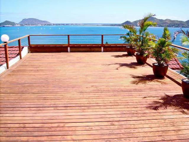 Large Yoga/Relaxation Deck
