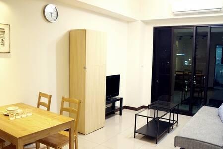 Cozy apartment, Taoyuan airport bus go through - Taoyuan District - 公寓