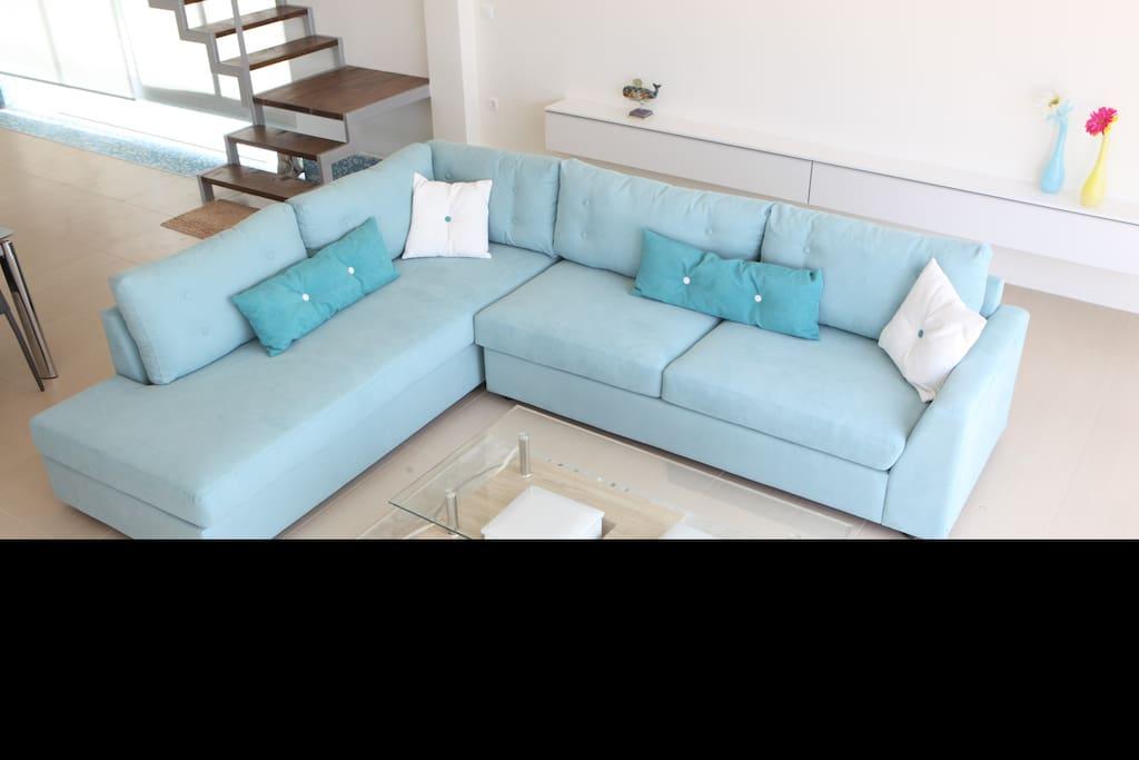 Inside sofa beds