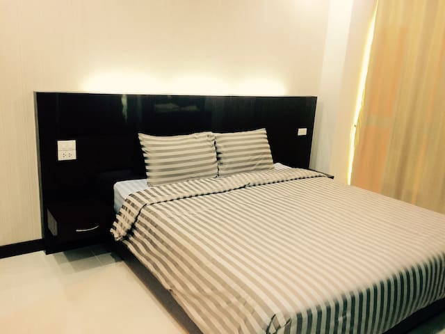 Double bedroom @ Like Condo - Mueang Chiang Rai