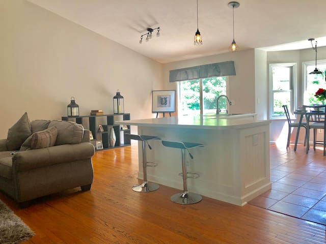 Beautiful open concept home near ND and downtown