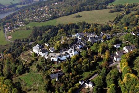 Gemütlich wohnen in der Eifel, Burgscheune Whg 2 - Apartment