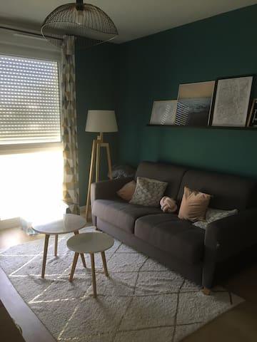 Bienvenue chez moi! Couchage dans mon appartement