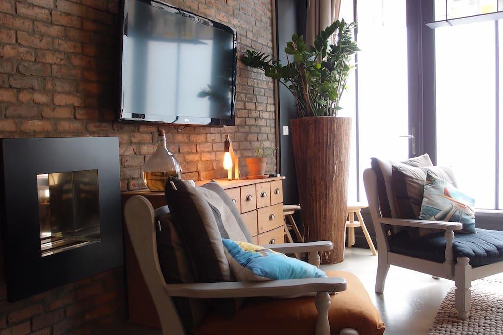 loft deux pas du vieux port lofts for rent in la rochelle poitou charentes france. Black Bedroom Furniture Sets. Home Design Ideas