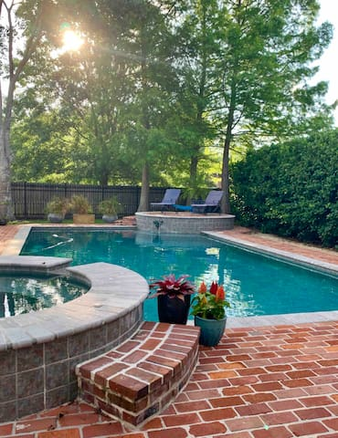 Your view from cottage - shared pool