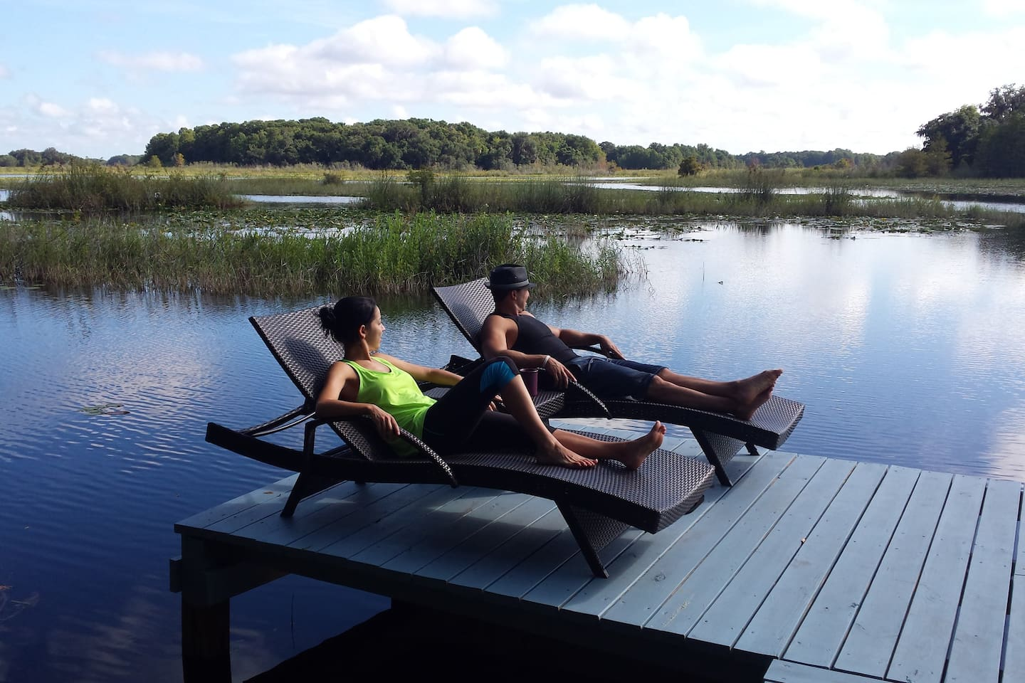 RELAX on the dock & take in the view.
