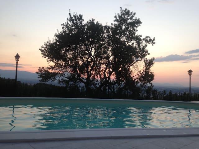 Villa Ada con piscina salata