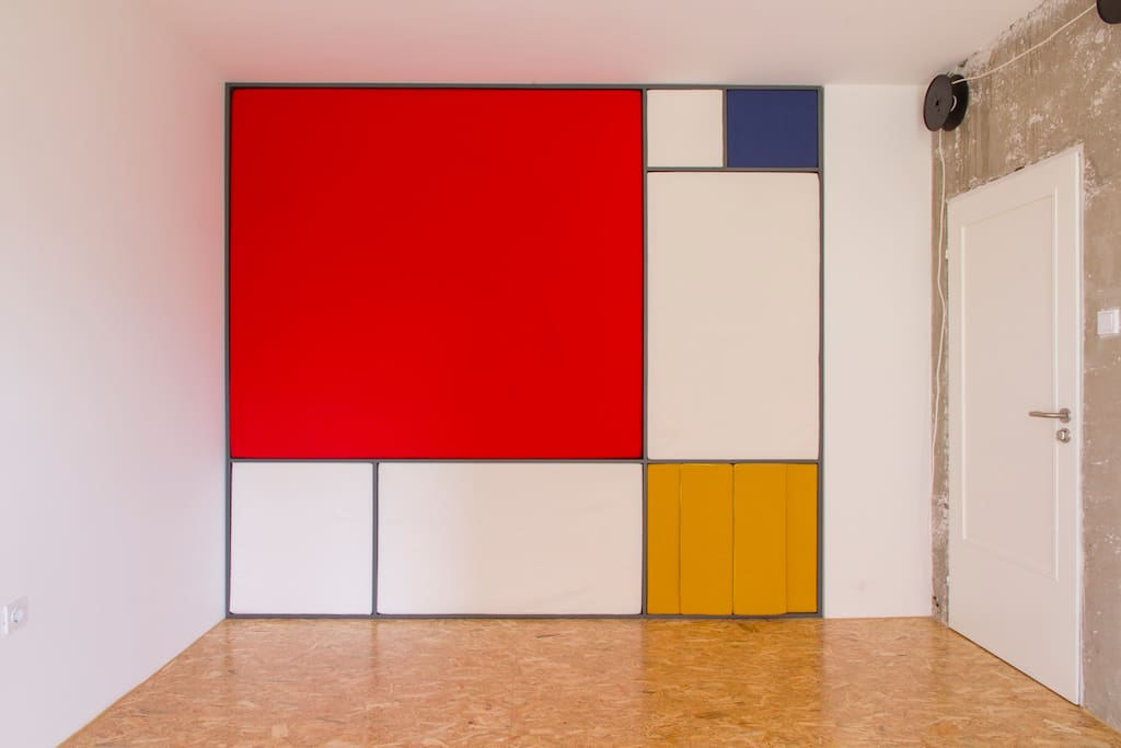 This is where it all begins. The ideal fusion of form and function. De Stijl.