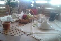 pranzare in terrazza